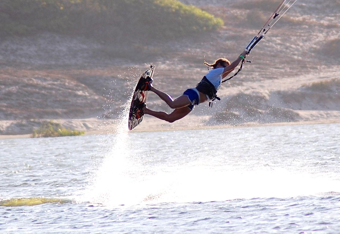 Kite On, Kite surfing school in Lagoinha Brazil