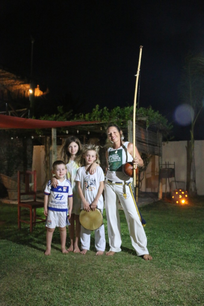 Capoeira enfants Zoé